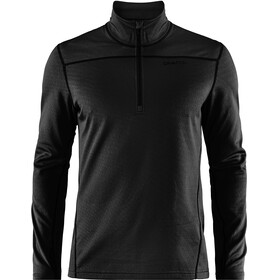Craft M's Pin Halfzip Midlayer Black